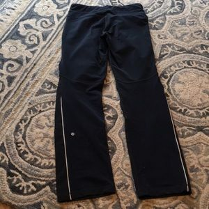 Rare LULULEMON speed pants with waterproof front